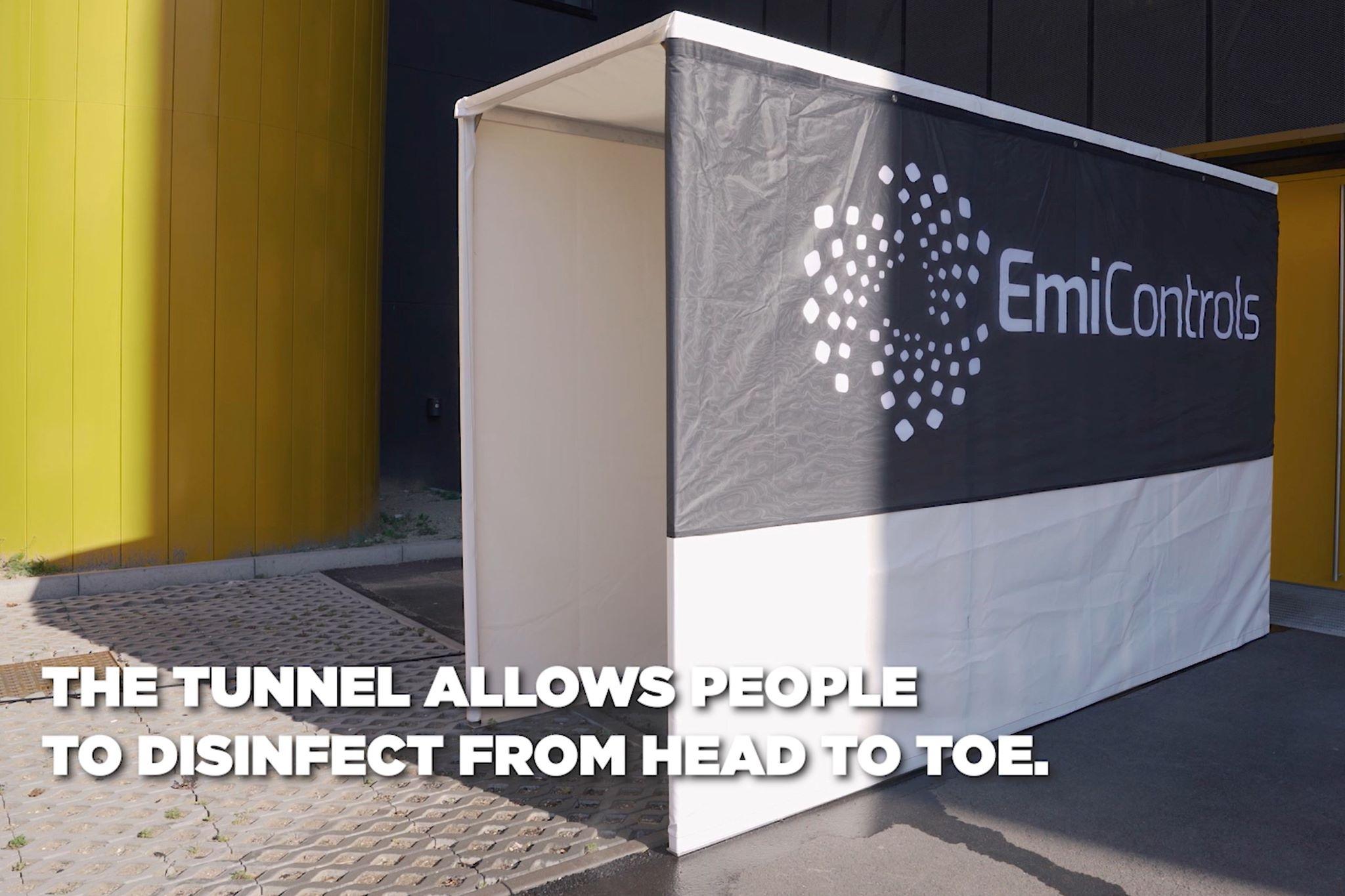 Tunel de desinfección